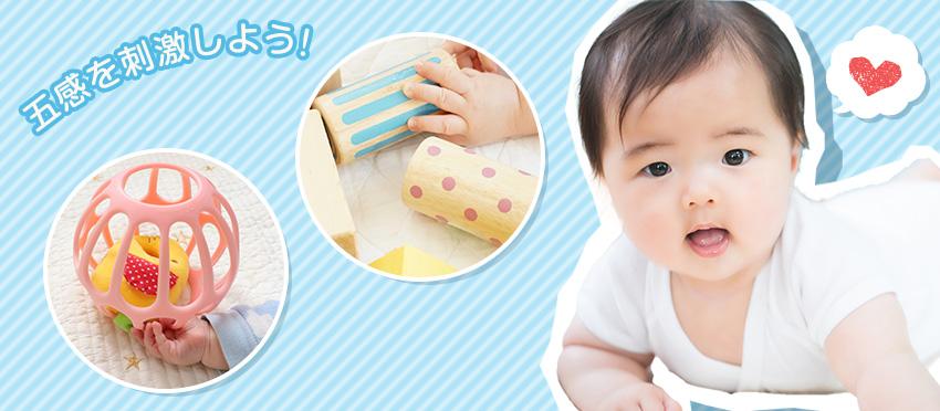 【0歳児】五感を刺激して発達を促す知育玩具
