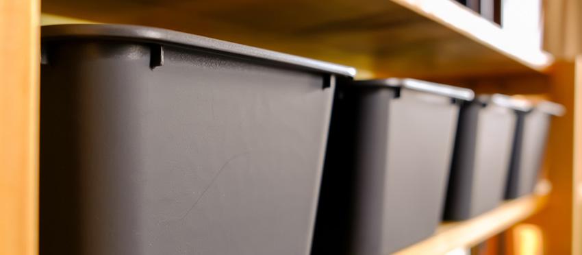 シンプルなボックスやファイルケースを使う