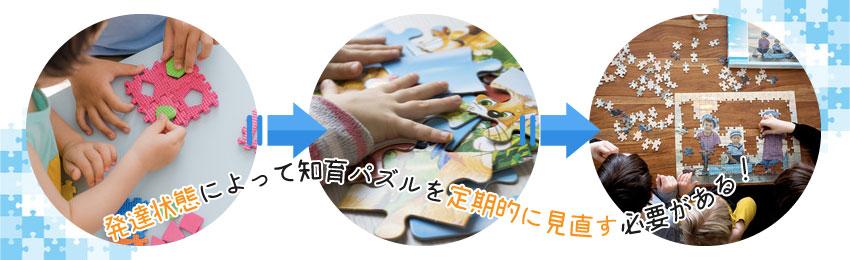 【年齢別】知育パズルで遊ぶポイント